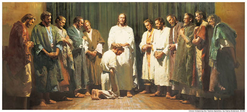 Jesus Christus und seine Apostel