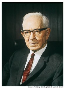 Joseph Fielding Smith Mormon