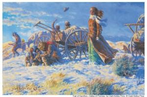 Handcart Pioneers Salt Lake Mormon