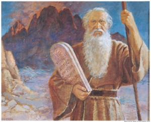 Mormon Ten Commandments