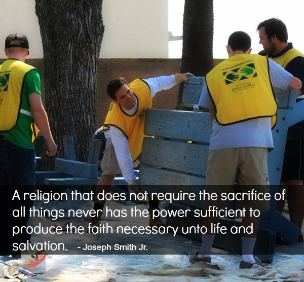 Mormon Service and Sacrifice