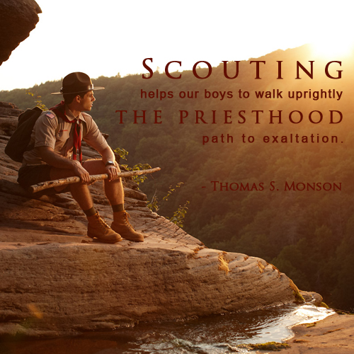 The Mormon Priesthood and Scouting: How They Support One Another